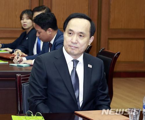 3차 실무회담 자리한 김상균 수석대표