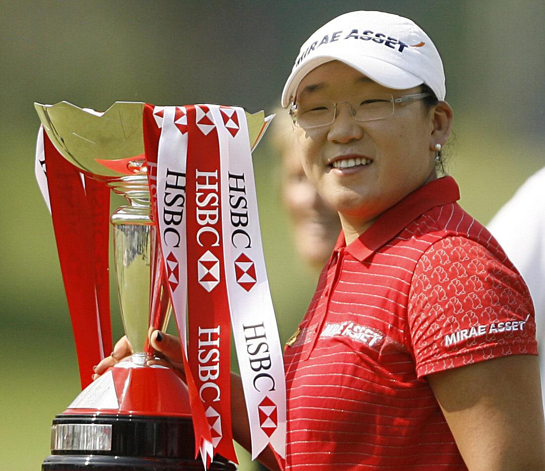 신지애, 한국인 최초 LPGA 상금왕 등극