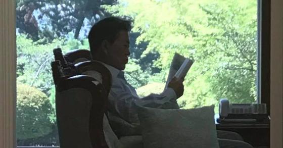 문재인 대통령. [청와대 페이스북 페이지]