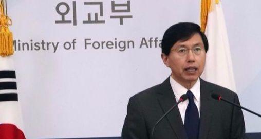 조준혁 외교부 대변인. [사진 연합뉴스]