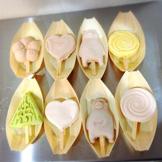 일본 '가나자와아이스'의 녹지 않는 아이스크림