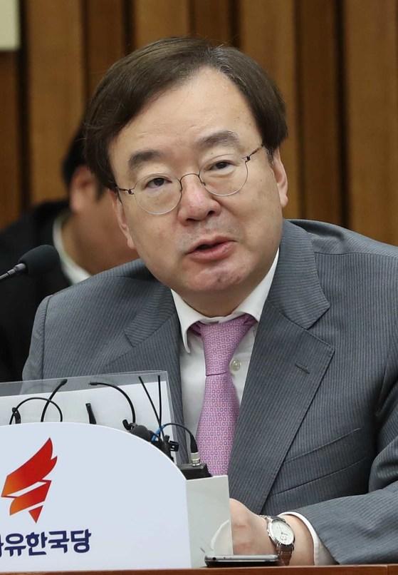 자유한국당 강효상 의원. [중앙포토]