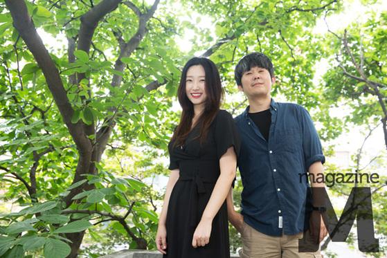 김종관 감독 & 배우 류선영/ 사진=라희찬(STUDIO 706)