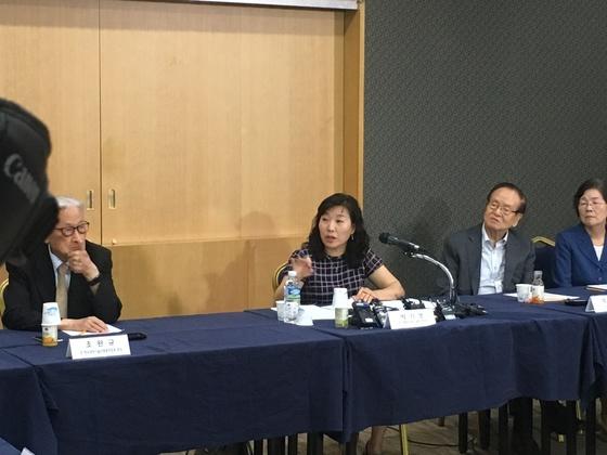 '과학기술계 대표·원로 정책간담회'를 개최한 박기영 과학기술정보통신부 과학기술혁신본부장. 문희첱 기자