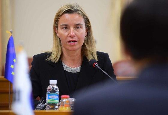 페데리카 모게리니 EU 외교안보정책 고위대표. [사진공동취재단]