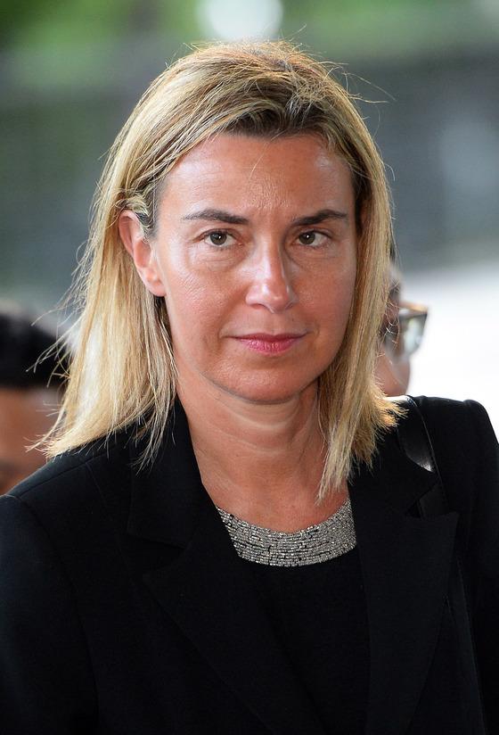 2015년 5월 4일 방한한 페데리카 모게리니 유럽연합(EU) 외교안보 고위대표. [사진공동취재단]
