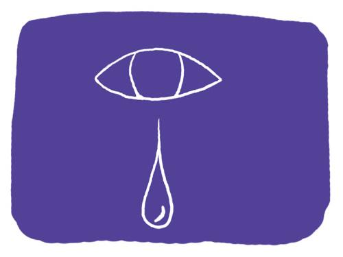 위암 환자 중 고령이면서 신장 기능이 떨어진 사람이 경구 항암제 S-1을 쓸 때는 눈물길이 폐쇄 돼 눈물 흘림 부작용이 생길 위험이 크다. [일러스트 = 프리미엄 김미지]