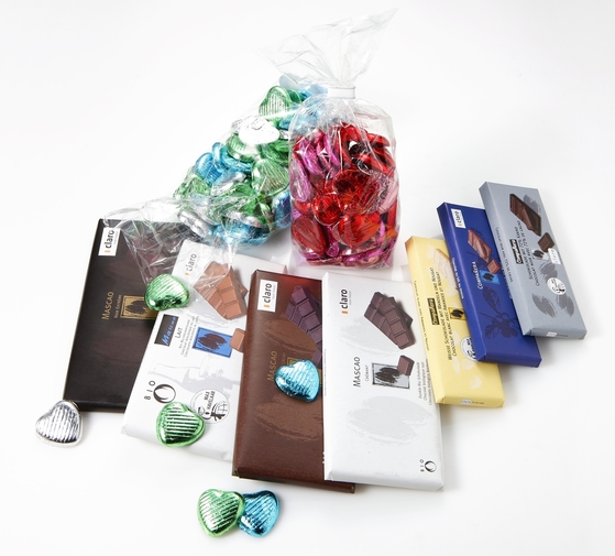 공정무역으로 거래되는 초콜릿 제품들 [중앙포토]