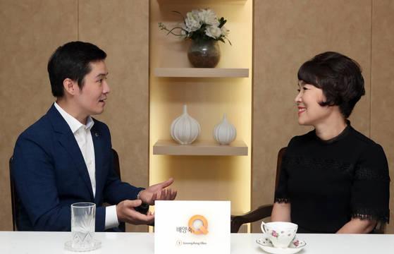 '배양숙의 Q'가 서울 삼성생명 서초타운에서 배우 겸 보이스 코치 이진선을 만났다. 최정동 기자