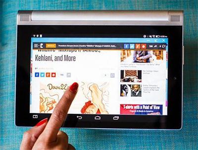 해외선 판매가 부진한 태블릿PC가 국내선 교육과 게임 수요에 덕에 인기를 모으고 있다. [사진 Cnet]
