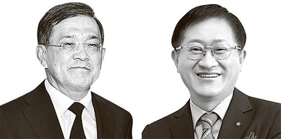 권오현(左), 서경배(右)