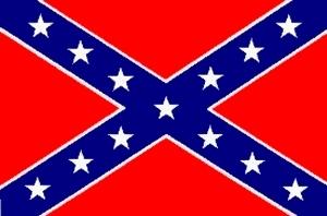 극우의 상징으로 전락한 남부연합기. [사진=위키피디아]