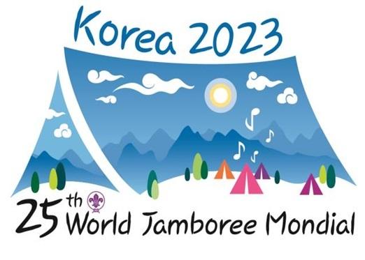 2023년 한국의 새만금에서 개최되는 제25회 세계잼버리 대회의 로고. [사진 여성가족부]