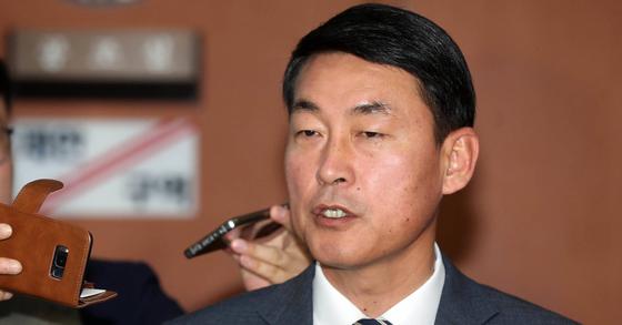 황영철 바른정당 의원. 강정현 기자