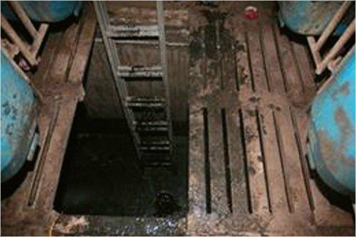 2017년 5월 경기도 여주시의 한 돼지 농장 분뇨 처리시설에서 외국인 노동자들이 가스 중독으로 숨지는 사고가 발생했다. 이들은 1.8m 깊이의 맨홀 안에서 작업을 하다 갑자기 가스에 질식돼 밖으로 빠져나오지 못한 것으로 드러났다. [사진 여주소방서]