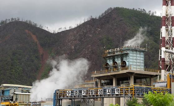 경북 봉화군 석포면 석포리 ㈜영풍 석포제련소. 이곳에서도 환경부의 환경역학 조사가 진행됐다. [중앙포토]