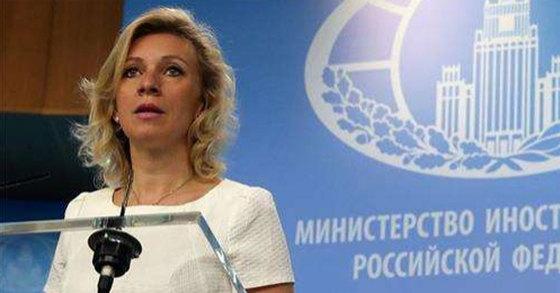 마리야 자하로바 러시아 외무부 대변인[연합뉴스]