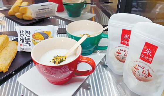쌀이 쌀핫도그·쌀맥주·쌀빵 등 다양한 가공식품과 디저트로 부활하고 있다. 쌀과 다양한 식품이 만나 쌀의 새로운 맛과 기능이 부각되면서 소비자에게 친근하게 다가가고 있다. [사진 협동조합 라이스랩]