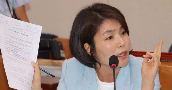 전희경 자유한국당 대변인. [연합뉴스]