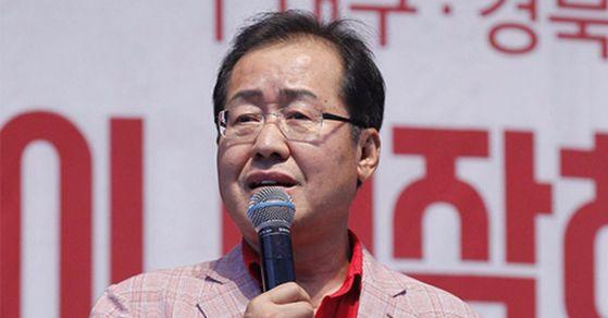 홍준표 자유한국당 대표. 프리랜서 공정식.