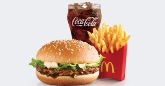 맥도날드 불고기버거세트