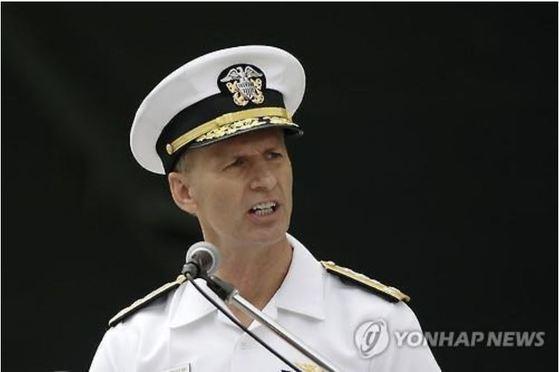 잇단 군함 사고의 책임을 지고 보직해임되는 조셉 오코인 미 7함대 사령관. [AFP=연합뉴스]