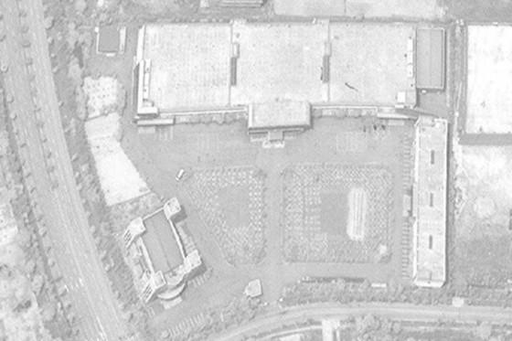디지털 글로브가 공개한 위성 사진.