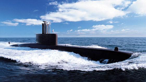 작전중인 장보고급 잠수함. [중앙포토]