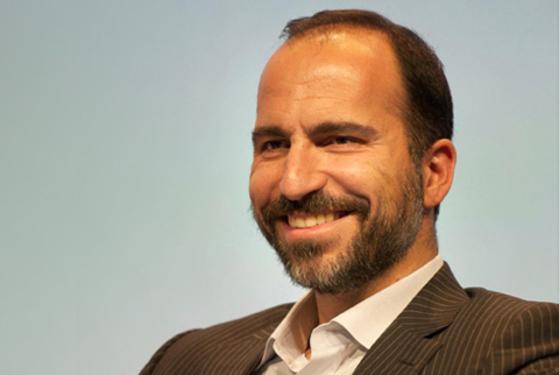 27일(현지시간) 세계최대 차량공유업체 우버의 새 CEO로 선출된 다라 코스로샤히 익스피디아 CEO 겸 회장. [중앙포토]