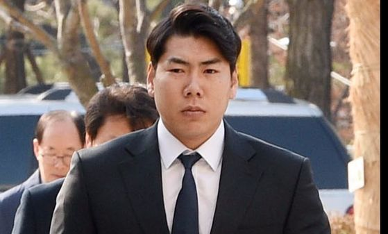 [포토] 강정호 '야구야, 미안해'
