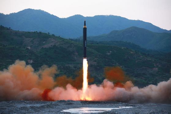 북한 미사일. [연합뉴스]