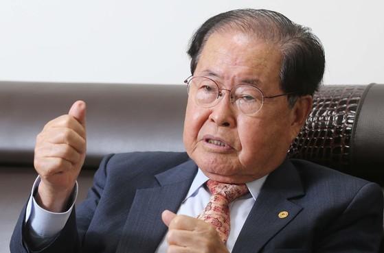 김희수 건양대학교 총장.[중앙포토]