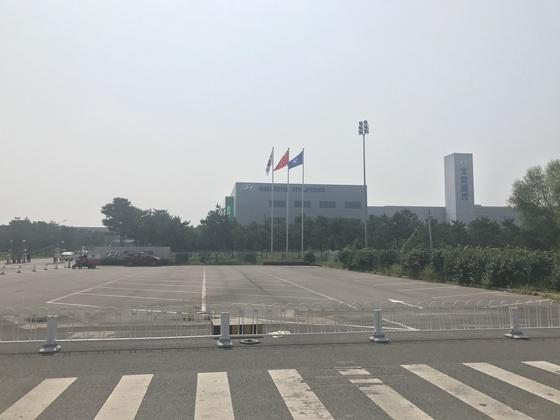 중국 베이징의 베이징현대차 3공장 전경. 신경진 특파원