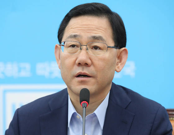 바른정당 주호영 원내대표. [연합뉴스]