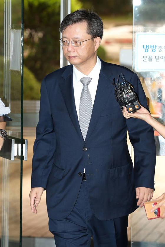 우병우 전 청와대 민정수석비서관. 장진영 기자