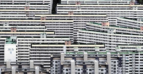 서울 강남구 대치동 은마아파트 단지 전경 [중앙포토]