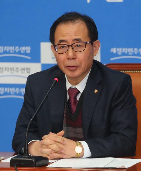 김성곤 전 의원. [중앙포토]