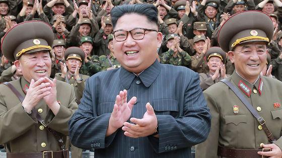 조선중앙통신이 소개한 김정은의 군부대 시찰 모습 [AFP]