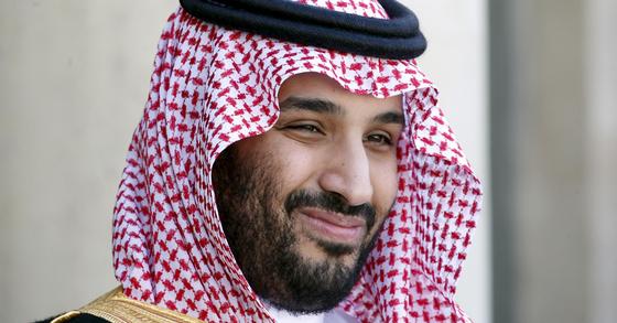 모하마드 빈 살만(Mohammed bin Salman) 왕세자. [AP=연합뉴스]