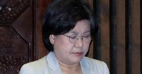 이혜훈 바른정당 대표. [사진 연합뉴스]