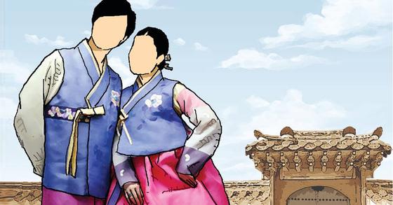 한복을 입고 세종문화회관 등 서울시가 운영하는 문화공연 시설을 찾는 시민들은 입장료를 최대 3만원 할인받을 수 있다. [중앙포토]