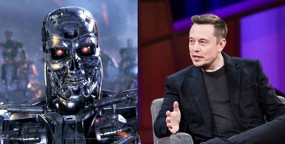 일론 머스크 테슬라 창업자 겸 CEO가 또다시 AI의 위험성을 트위터에 경고했다. 머스크는 국가간 AI 개발 경쟁으로 3차 세계대전이 발발할 가능성이 크다고 말했다. [중앙포토]