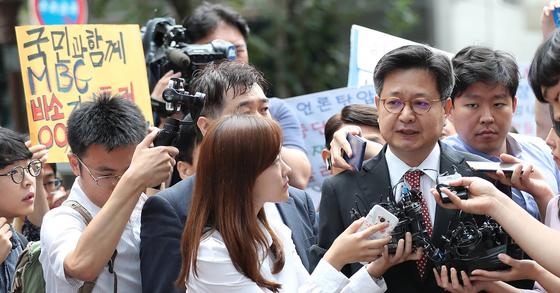 김장겸 MBC 사장. 우상조 기자