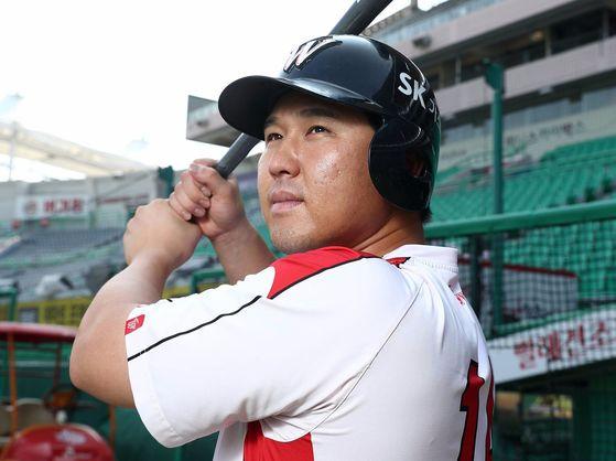 최정 SK 와이번스 선수.