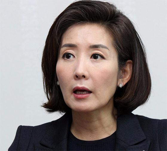 나경원 자유한국당 의원. [증앙포토]