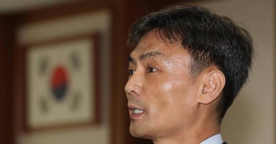 박성진 중소벤처지원부 장관 후보자. 강정현 기자