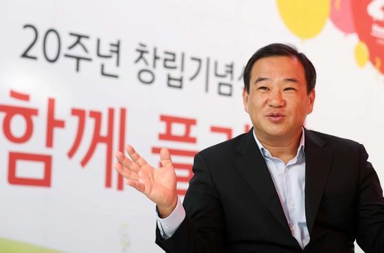 창립 20주년을 맞은 홈플러스 김상현 대표는