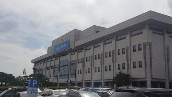 경기도의회 전경. [중앙포토]