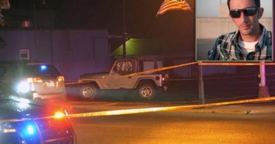 카메라를 무기로 오인한 경찰관에 의해 미국의 한 사진기자가 총격을 당했다. [사진 CBS]