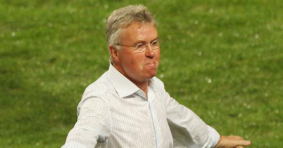 2002년 한일월드컵에서 한국축구대표팀을 4강에 올려놓은 거스 히딩크 감독. [중앙포토]